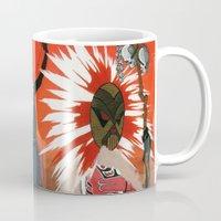 mythology Mugs featuring Inuit Mythology: Chapter 1, part 4 by Estúdio Marte