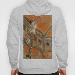 Miss La La At The Cirque Fernando 1879 By Edgar Degas | Reproduction | Famous French Painter Hoody