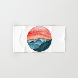 Mini dreamy landscape II Hand & Bath Towel