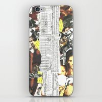 persona iPhone & iPod Skins featuring Persona Solara by Antimatéria
