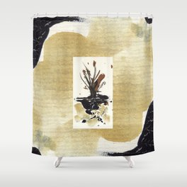 In Limbo - Sepia I Shower Curtain