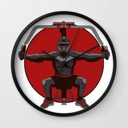 Animal Workouts: Gorilla Wall Clock