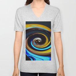 Swirling colors 03 (Swirl) Unisex V-Neck
