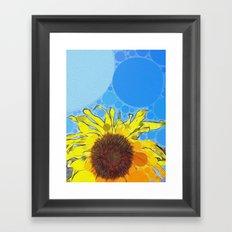 :: Nothin' But Blue Skies :: Framed Art Print