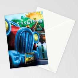 Mickey's Jalopy Stationery Cards