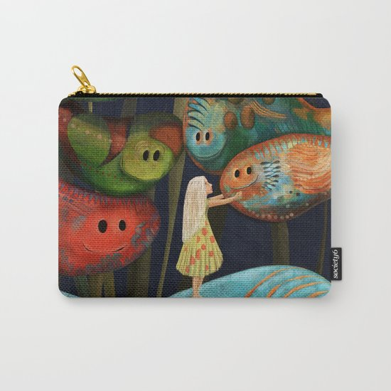My Fascinating Friends Carry-All Pouch
