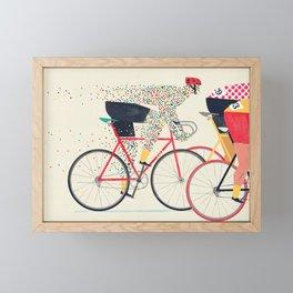 Tour de France Framed Mini Art Print