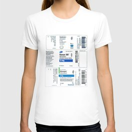 Drug Labels T-shirt