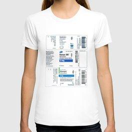 Drug Labels T-shirt