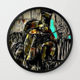 Plastic series 9 Wall Clock