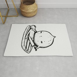 onion role reversal Rug