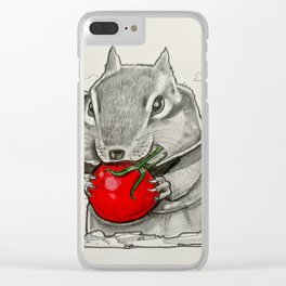 Chip n' Tomaters Clear iPhone Case