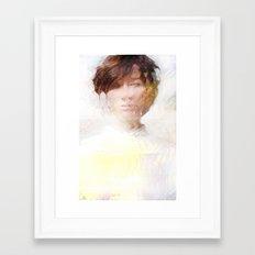 Premonition of a dream Framed Art Print