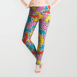 I Love Memphis Patterns Leggings