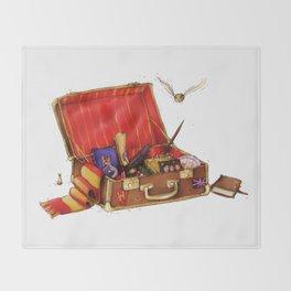 Magic Suitcase Throw Blanket