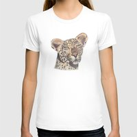 leopard T-shirts featuring leopard by becbugs
