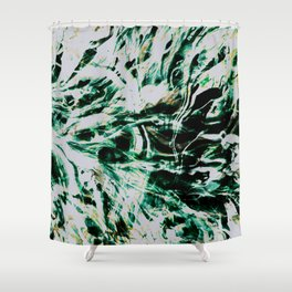 Jaded Shower Curtain