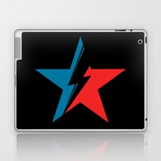 Bowie Star black Laptop & iPad Skin