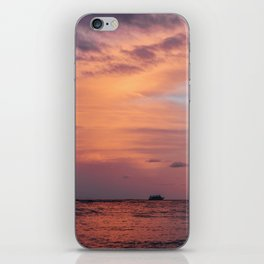 Cotten Candy Sunset iPhone Skin