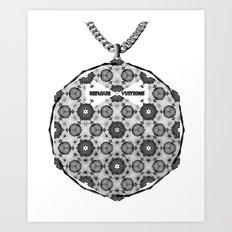 Spirobling XIV Art Print
