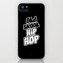 Old School Hip Hop iPhone Case