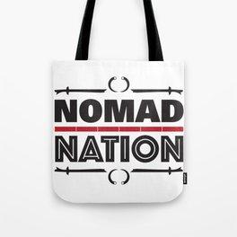 Nomad Nation Tote Bag