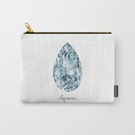 Aquamarine Carry-All Pouch