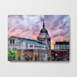 Old Bailey in London Metal Print