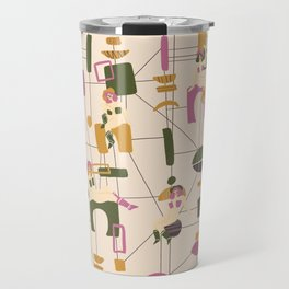 Mid Century Collection: Cowgirls Travel Mug