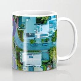 San Francisco Aerial (Color) Coffee Mug