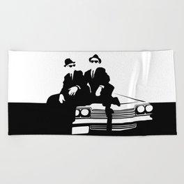 Blues Brothers Beach Towel