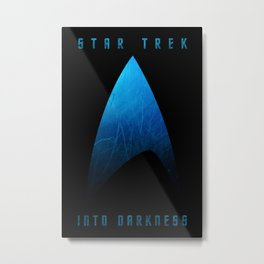 Star Trek Into Darkness (Science) Metal Print