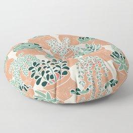 Succulent's Tiny Pots Floor Pillow