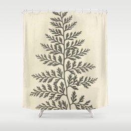 Naturalist Fern Shower Curtain