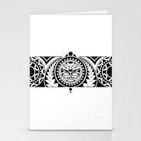 maori Stationery Cards featuring Maori by Reiv