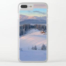 WINTER SCENE-3118/2 Clear iPhone Case