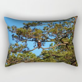 American Bald Eagle Rectangular Pillow
