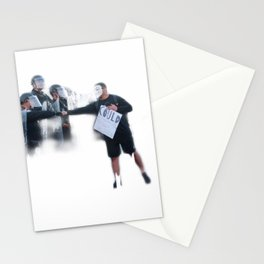 Police&Protests Stationery Cards