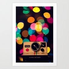 Have A Very Bokeh Christmas... Art Print