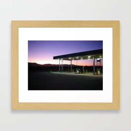 Roads Framed Art Print