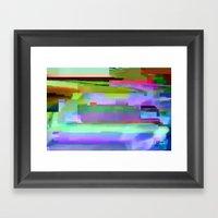 scrmbmosh250x4a Framed Art Print