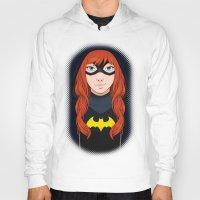 batgirl Hoodies featuring Batgirl by SoLaNgE-scf