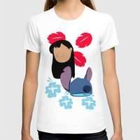 lilo and stitch T-shirts featuring Lilo & Stitch by Raquel Segal