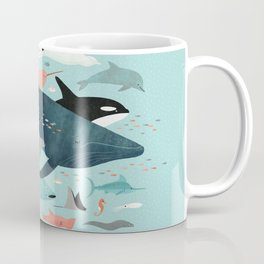 Under the Sea Menagerie Coffee Mug