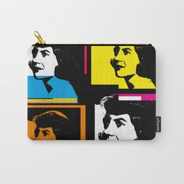 SYVIA PLATH (POP-ART STYLE 4-UP COLLAGE) Carry-All Pouch
