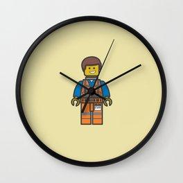 #10 Emmet Lego Wall Clock