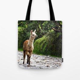Llama 02 Tote Bag