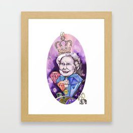 Lizzie in the Sky with Daimonds Framed Art Print