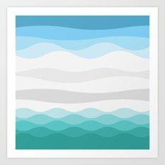 Polarscape Art Print