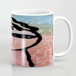 Sunshine Abstract Portrait of a Woman Coffee Mug